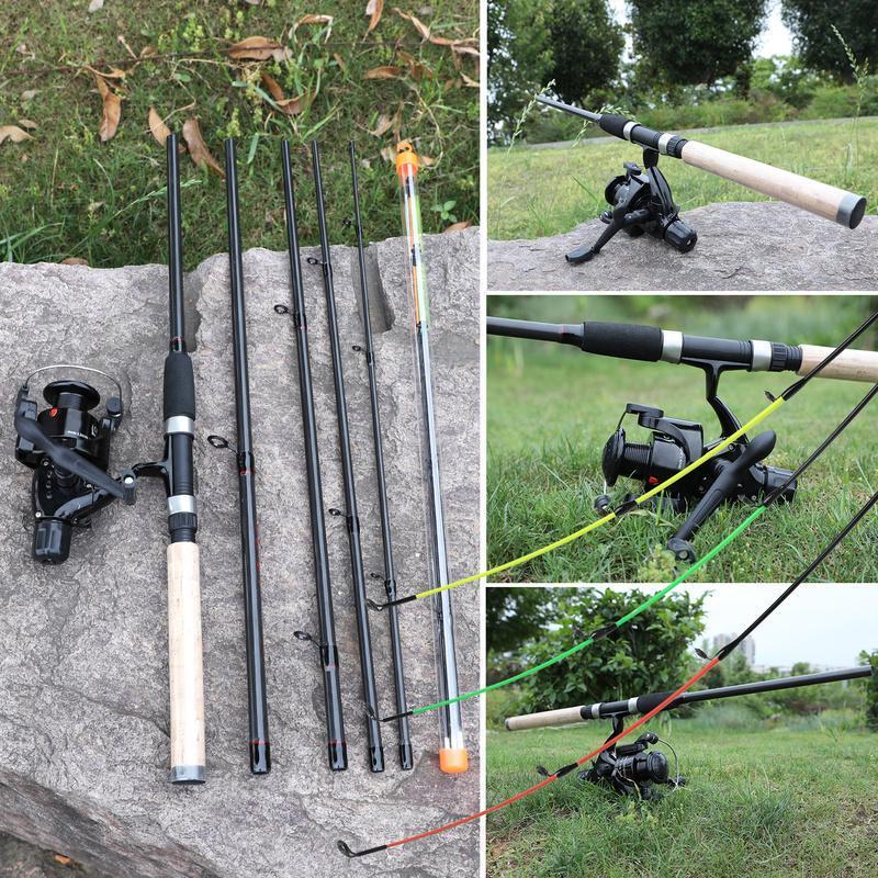 Рыбалка Род Комбо 3.0m Feeder Рыбалка Род с Карп Рыбалка Катушка Открытый Спорт Рыбалка Набор – купить по низким ценам в интернет-магазине Joom