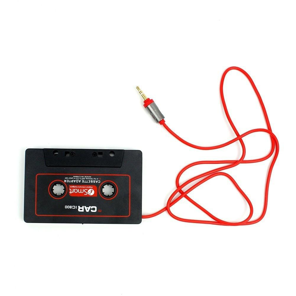 Car Cassette Tape 3.5mm Tape AUX Audio Adapter MP3 MP4 Player CD iPod iPhone New