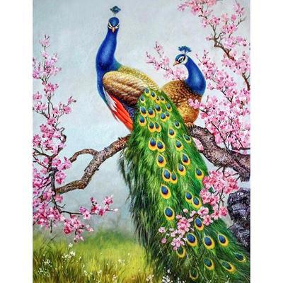 5D Diamond Painting Flower//Animal Mosaic Crafts Cross Stitch Kit Home Decors