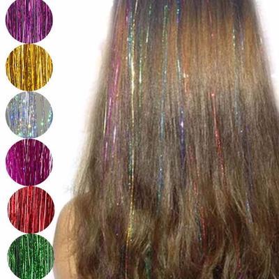 9f7e8863 Espiral arco iris cabello malla seda para cabello extensiones/de la ...