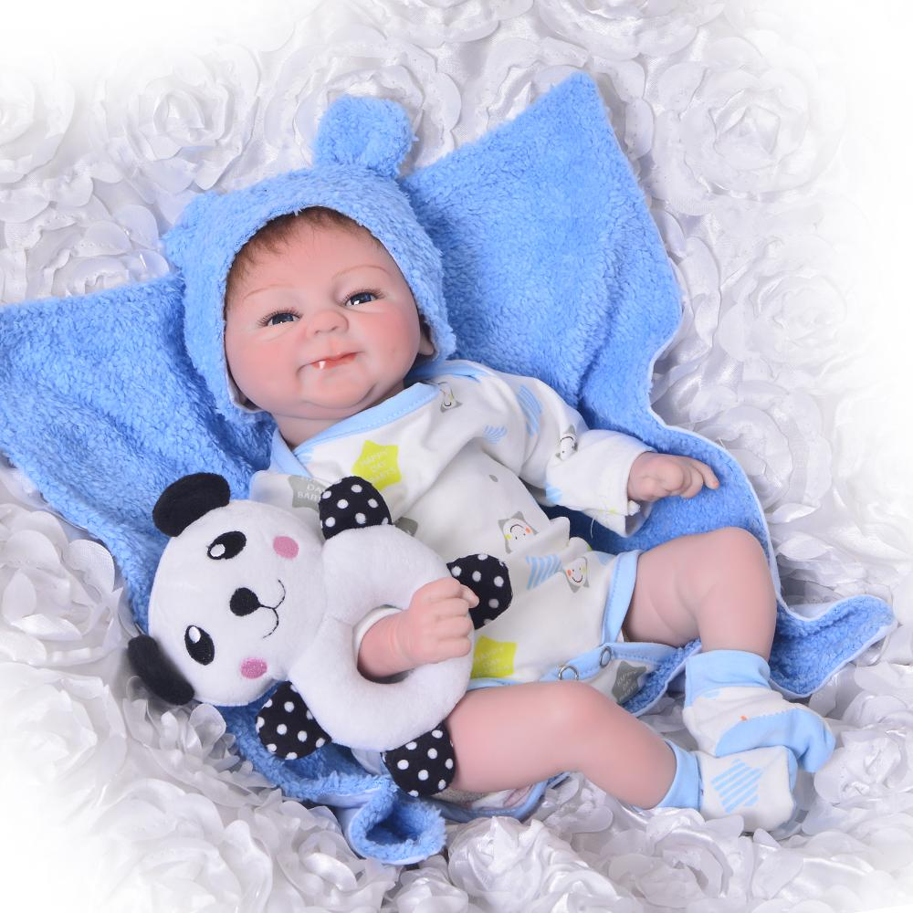 Buy Lifelike 17 Inch Baby Doll Toy 42 Cm Silicone Reborn Babies Doll Girl And Boy Twins Open Eyes Toddler Birthday Gift Lovely At Affordable Prices Price 41 Usd Free Shipping