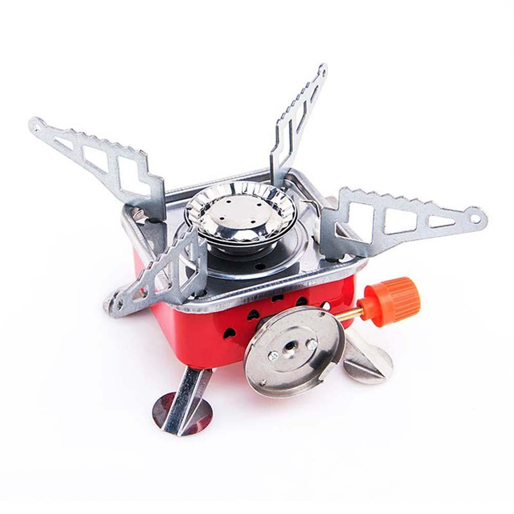 Travel Hiking Stove Portable Foldable Barbecue Gas Stove Card Type Palm Furnace Cooking Picnic Split Cooker Burners Buy At A Low Prices On Joom E Commerce Platform