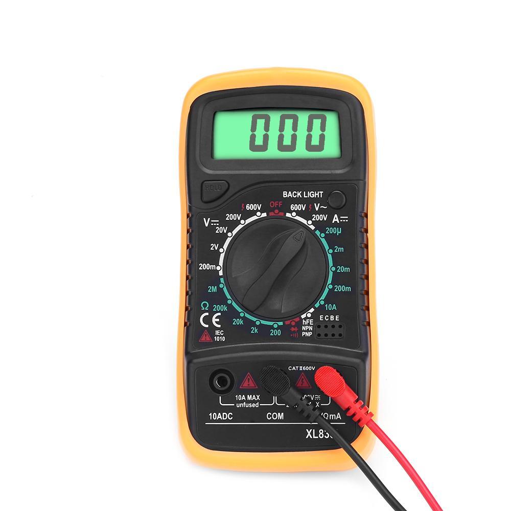 XL830L Handheld Mini digitales Multimeter DC/AC-Spannung/Widerstand ...