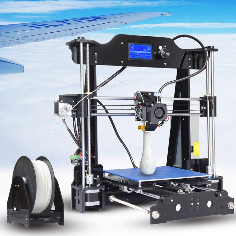 X8 hohe Präzision Druckgröße 220 * 220 * 200 mm DIY Acryl Struktur ...