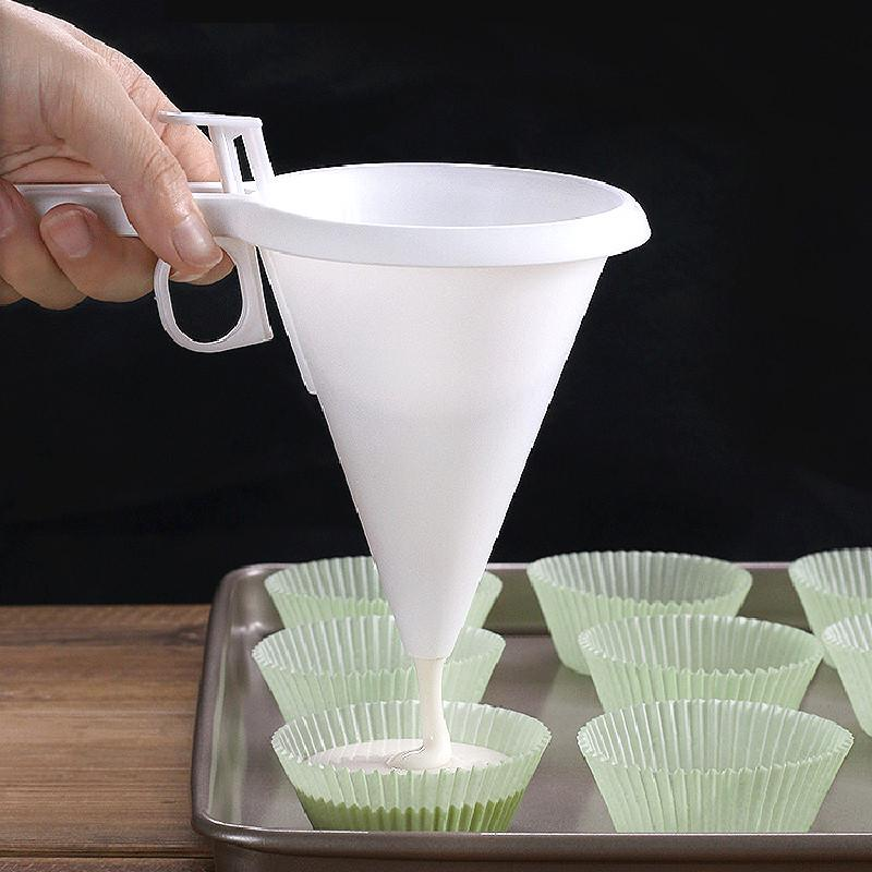 Adjustable Chocolate Funnel For Baking Cake Decorating Kitchen Super Tools L0Z1