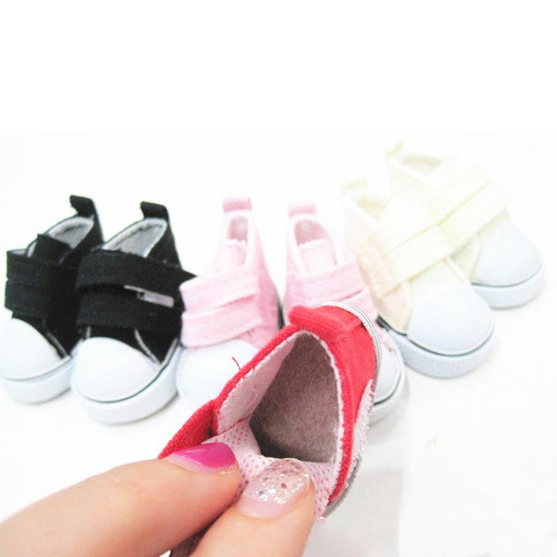 Adorable Pair of Doll Party Shoes Ankle Belt PU Leather Shoes for 18 American Doll Our Generation Dolls Dress Up Black