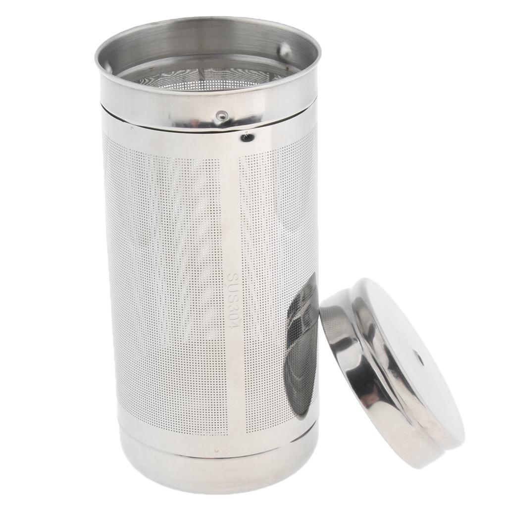 Forma a cuore in acciaio inox Colino per tè infus Filtro Loose foglia erba più ripida