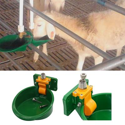 Green Farm /& Ranch Automatic Sheep Water Bowl,Automatic Sheep Drinker Waterer Cups Cattle Calf Sow Dog Pig Piglets Watering System-Plastic Water Valve
