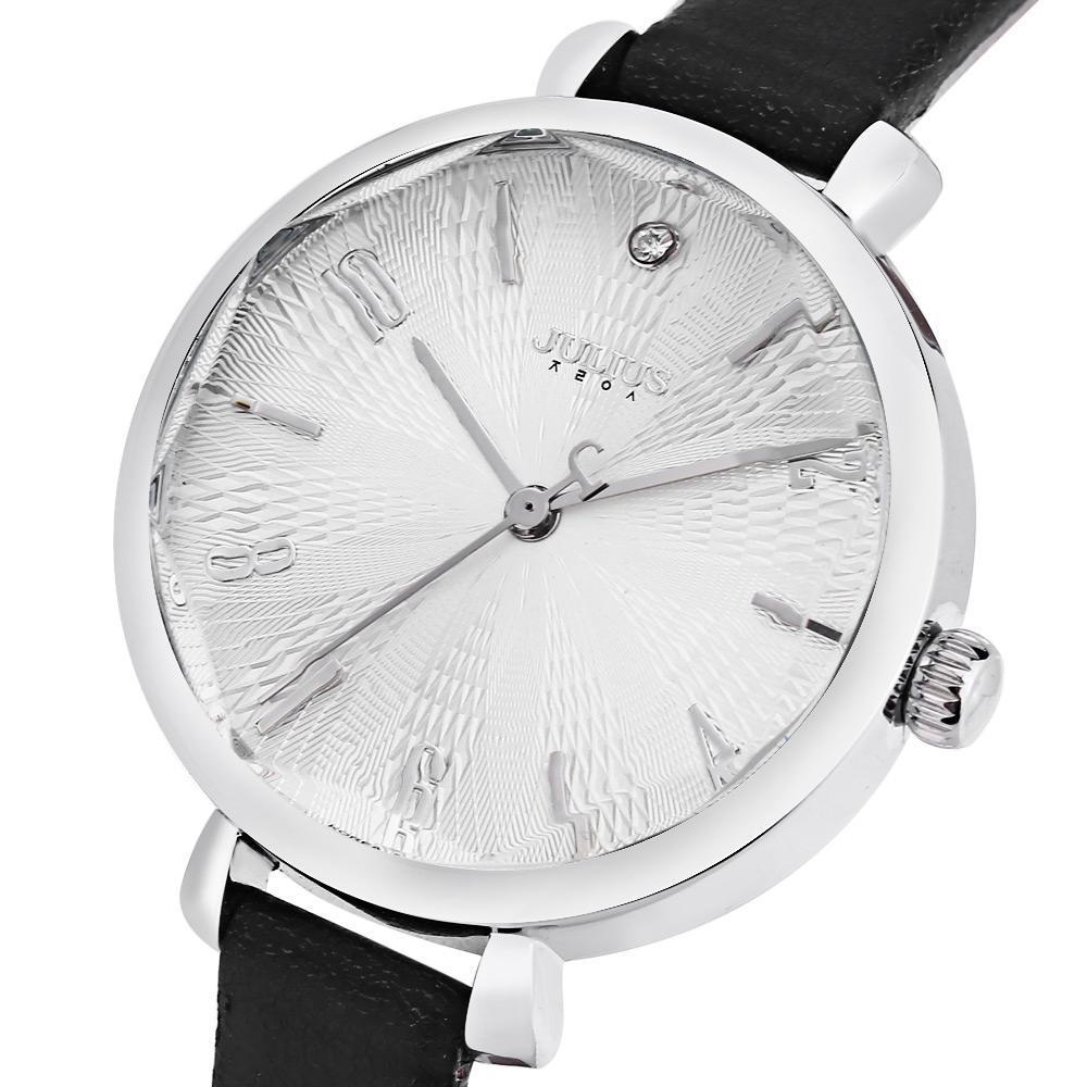 JULIUS JA - 886 Women Quartz Watch Artificial Diamond Dial Solid Mirror 3ATM Wristwatch-buy at a low prices on Joom e-commerce platform