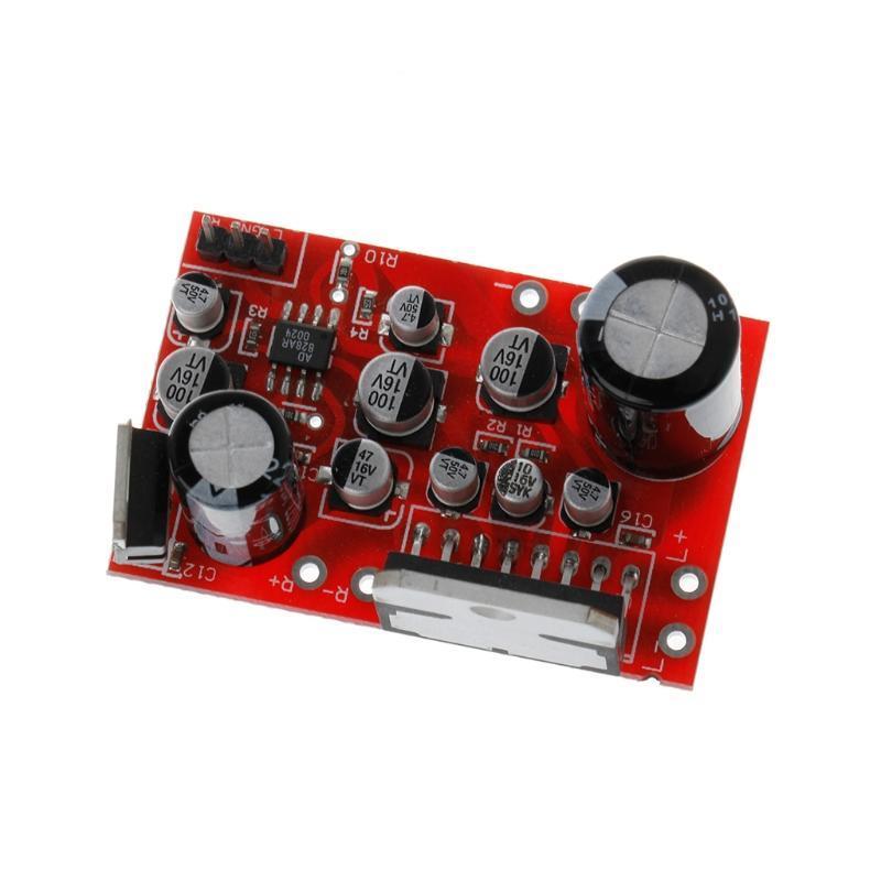 DC 12V 38W+38W Stereo TDA7379  Amplifier Board w// AD828 Preamp super than NE5532