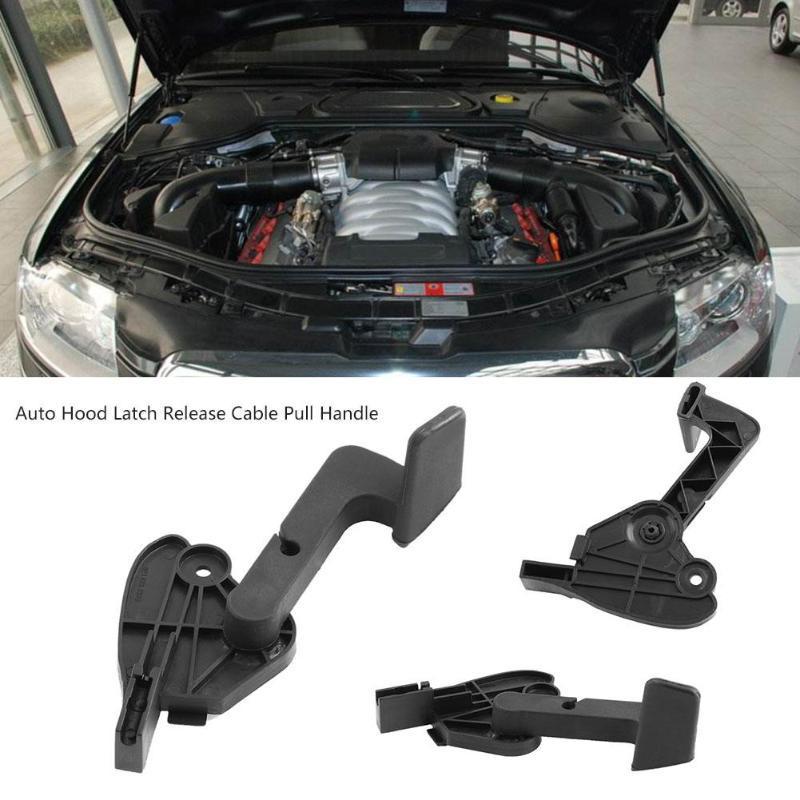 Car Hood Bonnet Release Lever Latch Handle for A4 B6 B7 S4 RS4 2001-2008 8E1 823 533 B Bonnet Latch Release Handle