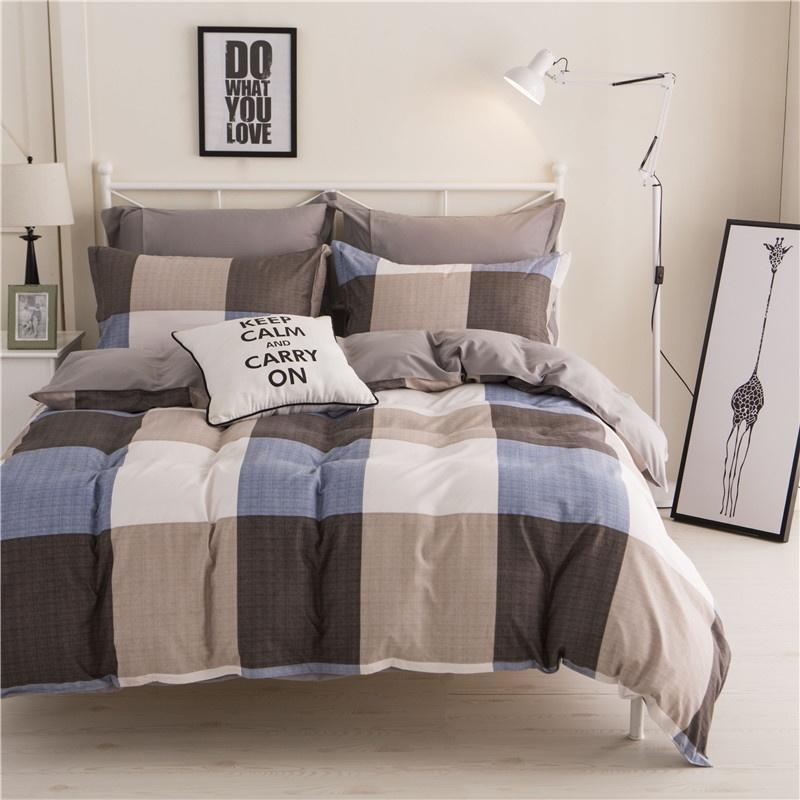 Ropa de cama Duvet cubierta cama hoja colcha King Queen Twin Size ...