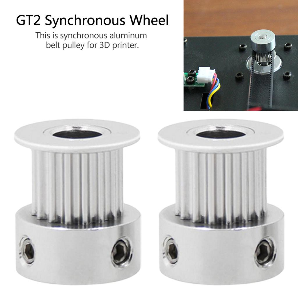 GT2 Synchronous Timing Belt Pulley 16 Teeth 5mm Bore for Stepper Motor 3D Print