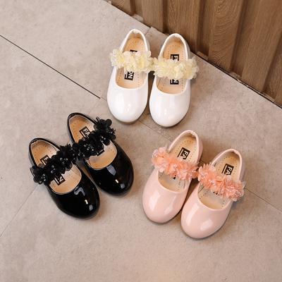 [Martha888] Kids Girls Summer Soft Soled Flower Solid Casual Sandals Princess Shoes