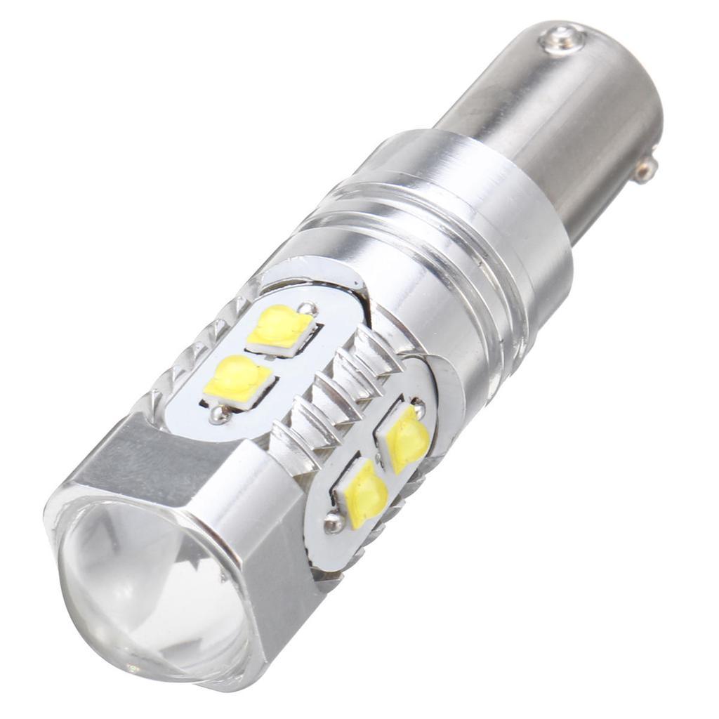 FEHLER GRATIS 9 SMD LED P21W 1156 BA15S//1157 BA15D 12V weiß//ROT SEITEN LICHT x 2