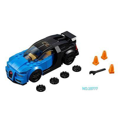 NEW 187Pcs Speed Champions Bugatti Chiron Building Blocks Bricks  Toys For kids