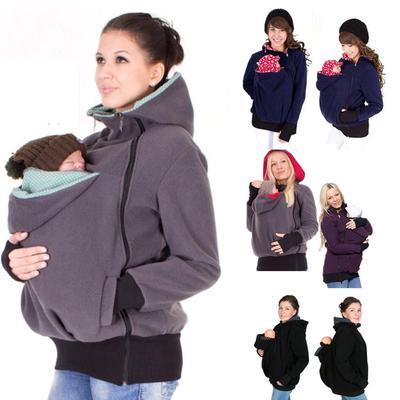 Bébé transporteur veste kangourou hiver maternité vêtements manteau pour  femmes enceintes 55892adffca