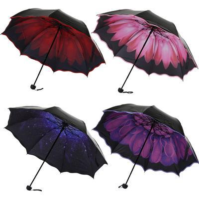 Animal Head Handle Anti UV Sun//Rain Folding Umbrella Parasol Windproof  Umbrella