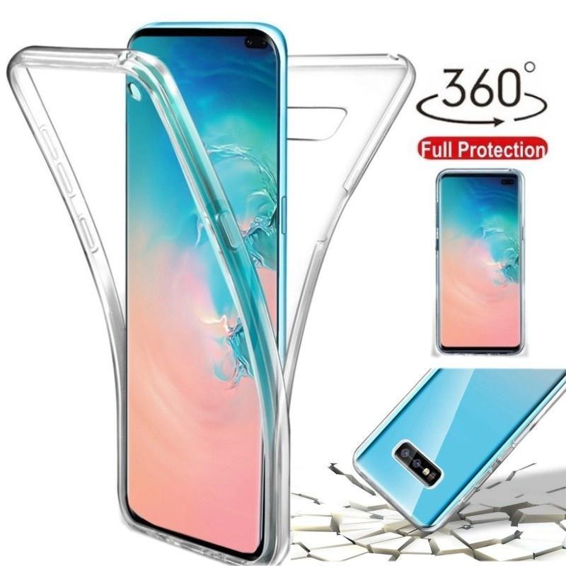 360 Силиконовый TPU Полный защитный Назад Дело Обложка Мобильный телефон для iPhone Huawei Samsung P30 Xiaomi