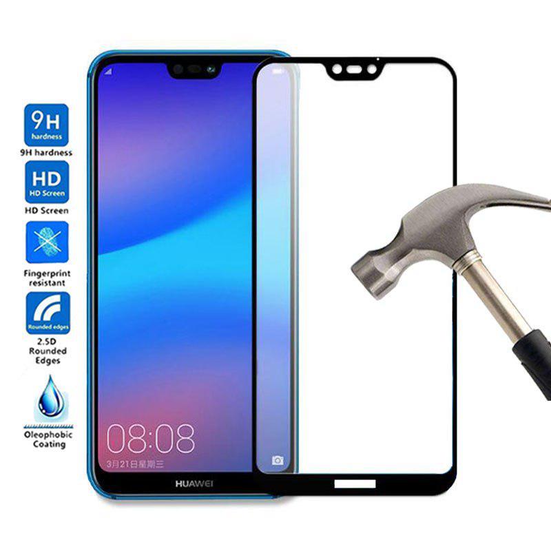 9H полное покрытие закаленное стекло для Huawei P20 P20 Pro P20 Lite Нова 3 3E 3i экран протектор фото