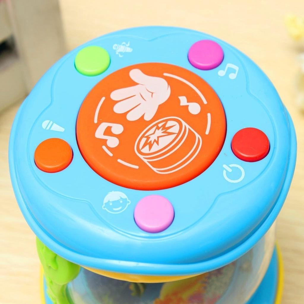 3D LED Licht Klang Spielzeug elektrisches Spielzeug Musik Instrumente Band Schlagzeug Kinder Kinder Baby Geschenk