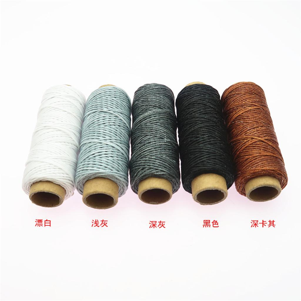 Sewing Awl Large Eye Needles Waxed Cord Thread 14Pcs Shoe Repair kits