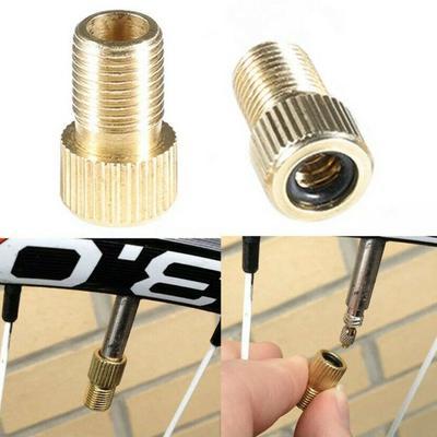 10pcs Pump Bicycle Convert Presta to Schrader Bike Valve Adaptor Tube Pump Lp