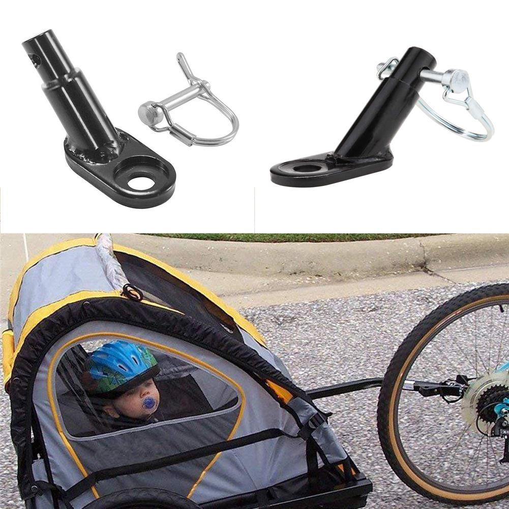 Steel Bike Bicycle Trailer Coupler Attachment Angled Elbow for InStep Schwinn