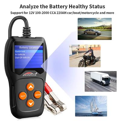 Zer one Car Diagnostic Scanner Tool Universal Automotive Analyzer Diagnostic Tools Relay Tester 12V Cars Auto Battery Checker