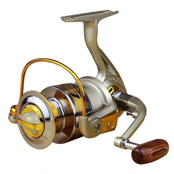 13BB 5.5:1 Spinning Reels Freshwater Saltwater Foldable Left//Right Fishing Reel