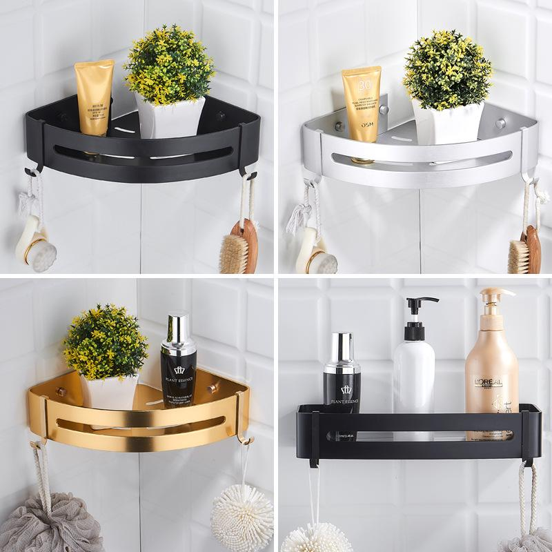 304 Stainless Steel Bathroom Shelves Silver Bathroom Accessories Shower Corner Shelf Shampoo Storage Rack Bathroom Basket Holder Buy At A Low Prices On Joom E Commerce Platform