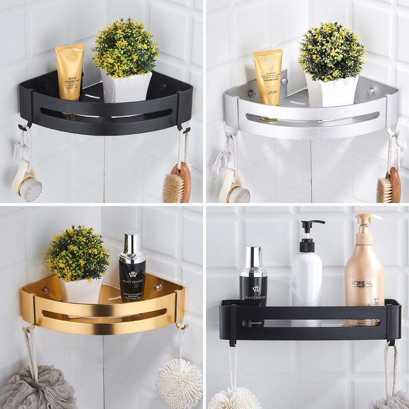 304 Stainless Steel Bathroom Shelves Silver Bathroom Accessories Shower Corner Shelf Shampoo Storage Rack Bathroom Basket Holder Buy From 22 On Joom E Commerce Platform