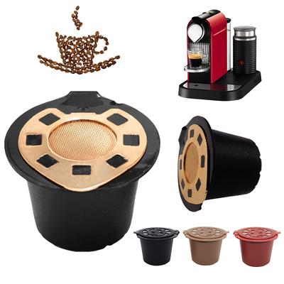 Reusable Stainless Steel Refillable Coffee Capsule Filter for Nespresso Machines