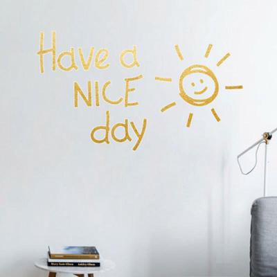 Home Decoration Living Room Vinyl Have A Nice Day Letter Decals Cute Bedroom Wall Sticker Buy At A Low Prices On Joom E Commerce Platform