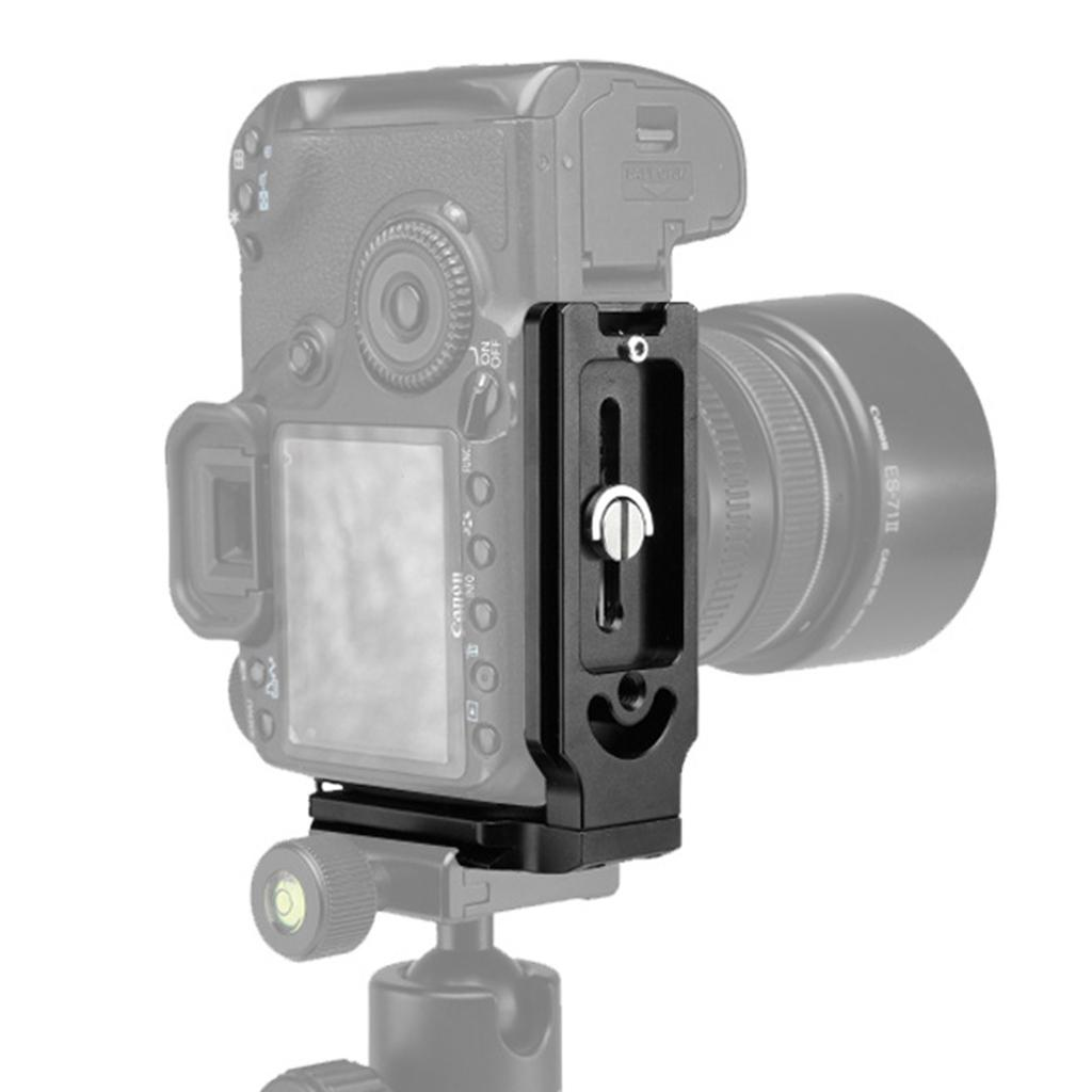 L Bracket Universal DSLR Camera Quick Release Plate Tripod Ball Head Mount