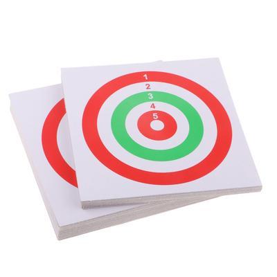 10Pcs 42 5*42 5cm Archery Target Paper Face for Arrow Bow