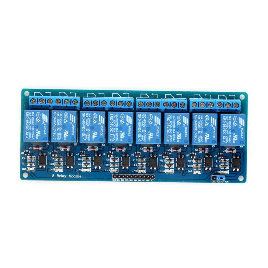 8-Channel 12V Relay Shield Board Module Optocoupler for Arduino UNO ARM PIC AVR