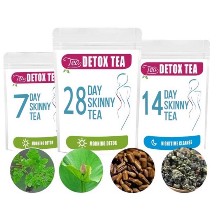 28 de zile de ceai slăbit