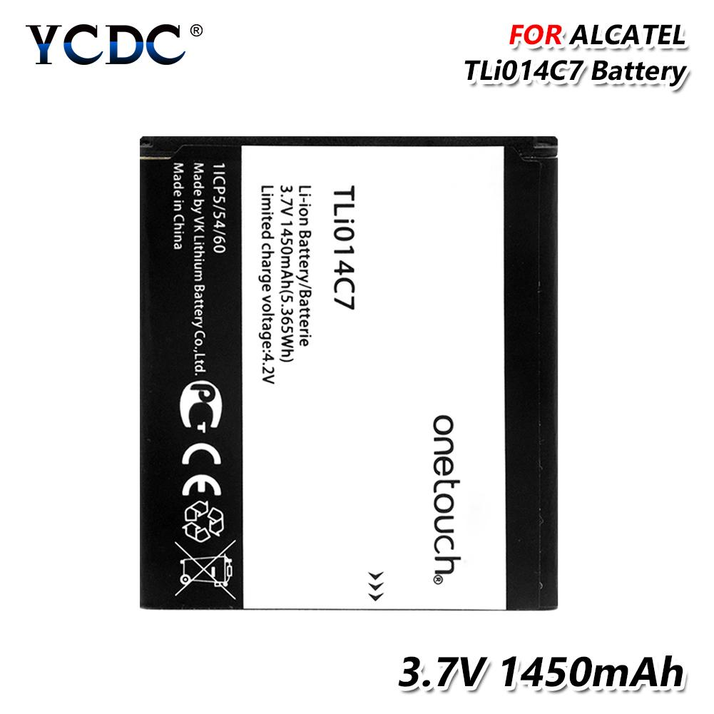Internal Battery TLi014C7 Battery 1450mAh For Alcatel One Touch Pixi First  OT-4024D OT-4024X