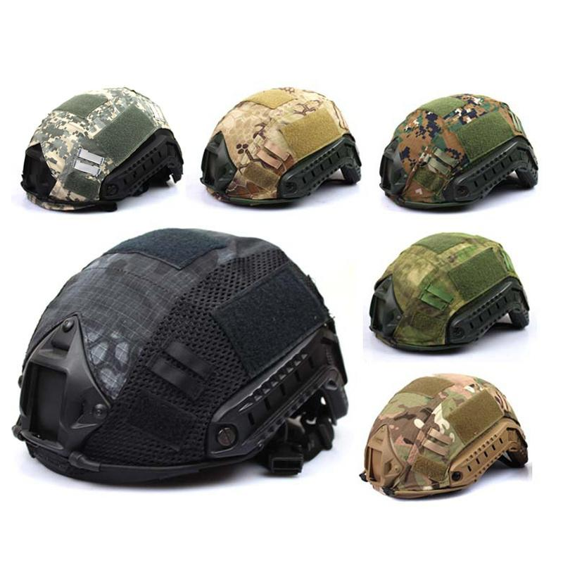 taktische militärische Jagd schnelle Camo Helm Cover Outdoor-Ausrüstung