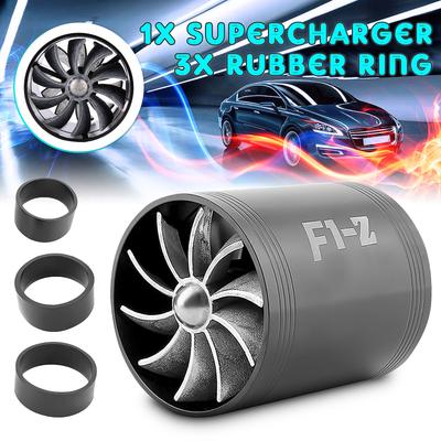 Car Supercharger Turbonator Ventilator Charger Air Intake