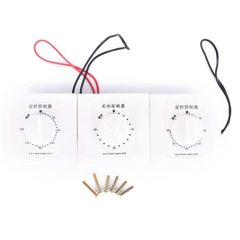 AC 220V 10A Timer Socket-30Min Electric Time Countdown Digital Time Plug Timer Interruptor Control Control Socket