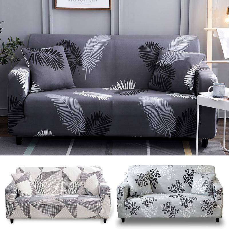 Fl Printed Sofa Cover Spandex, Slip Cover Sofas