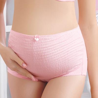 aa4e5f471 Maternidad de algodón suave de mujer Slim Fit cintura embarazadas bragas  ropa interior breve