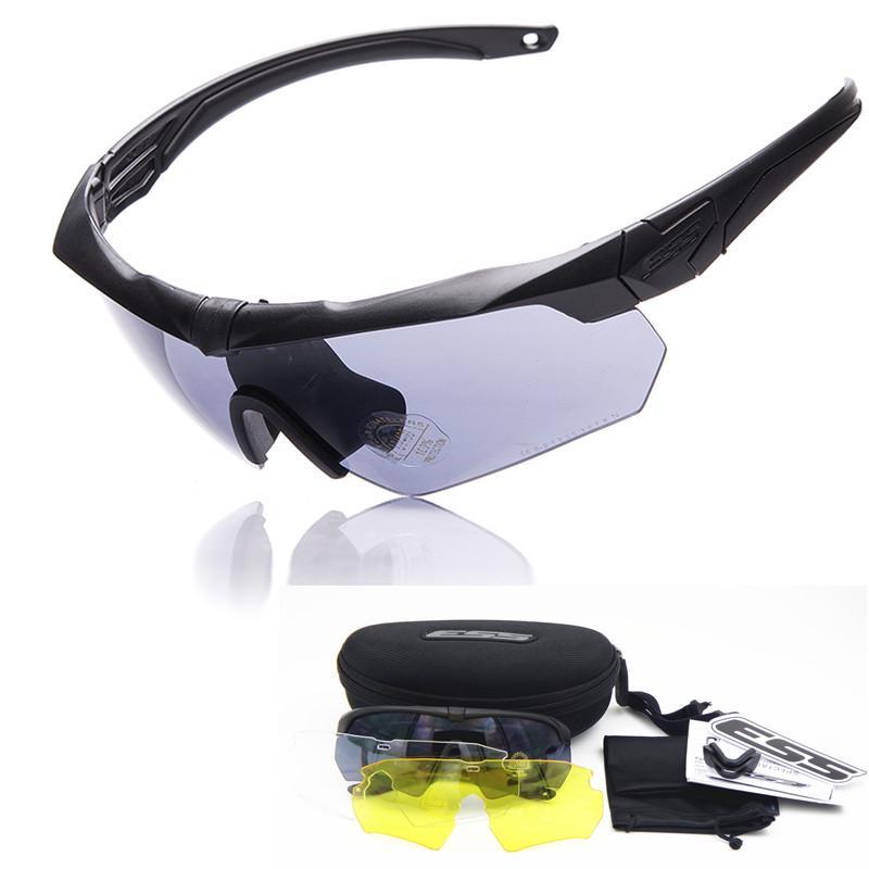 78b92aedf2 TR90 militares gafas 5 lente polarizada balístico militar ejército gafas de  sol hombres Sport a prueba de balas - comprar a precios bajos en la tienda  en ...