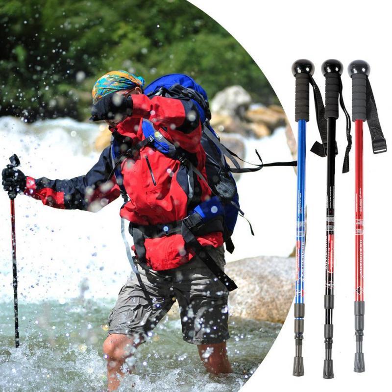 Adjustable Camera Camcorder Monopod Walking Stick Climbing Cane Black