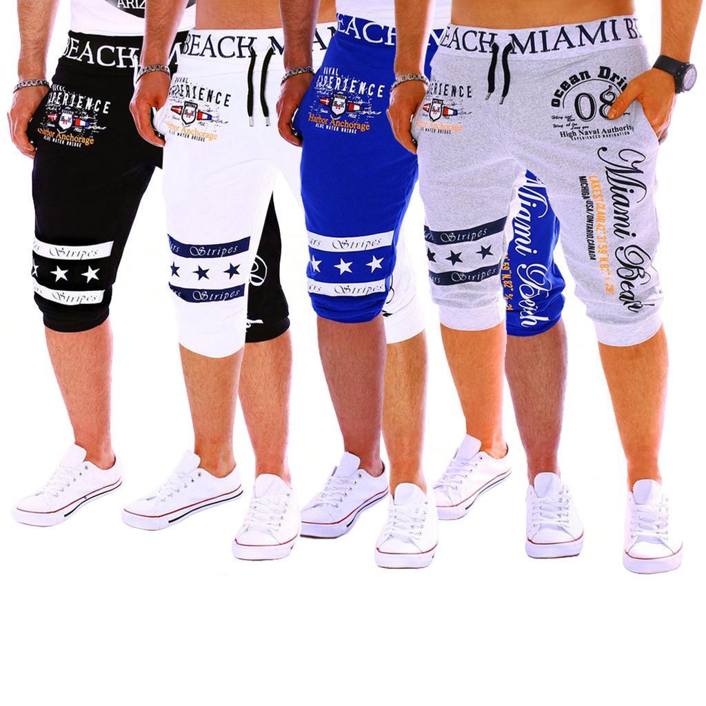 夏季外贸热销男装休闲运动裤 时尚数码印花设计 男式运动裤
