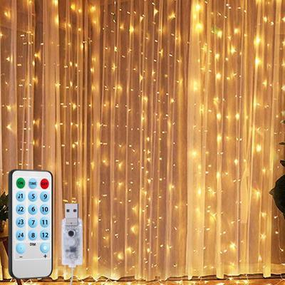 50//100LEDs Music Remote Control Fairy Light USB LED String Lamp Xmas Party Decor