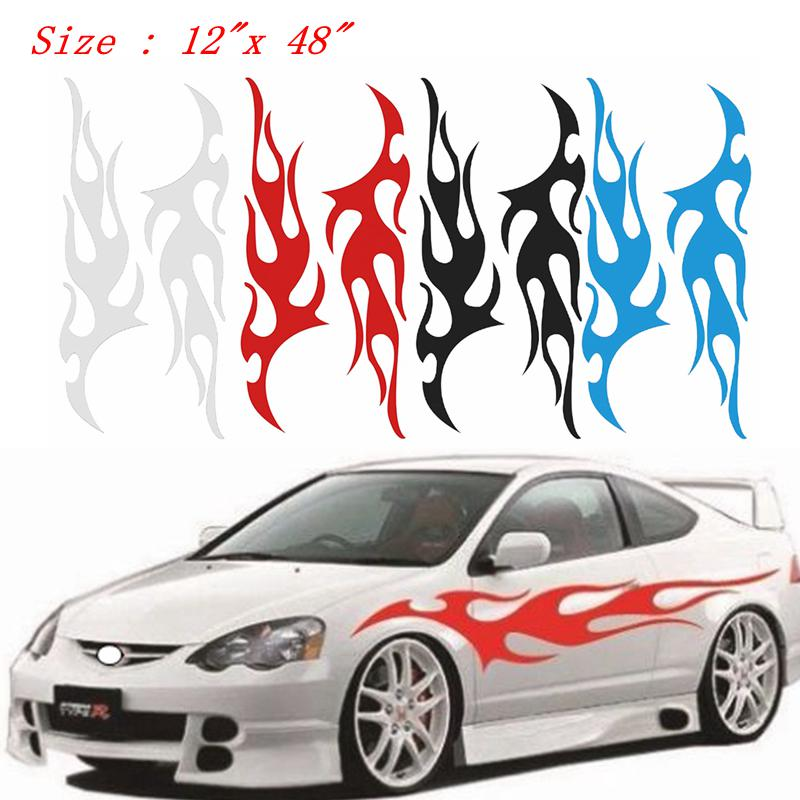 "*12/""x48/"" Reflective Red Vinyl Wrap Sticker Decal Graphic Sign Car Adhesive Film"