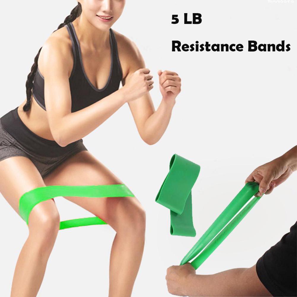 Спортивная эластичная резиновая эспандер-лента унисекс для укрепления мышц рук ног и живота фото